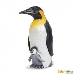 Pingüino Emperador + cria