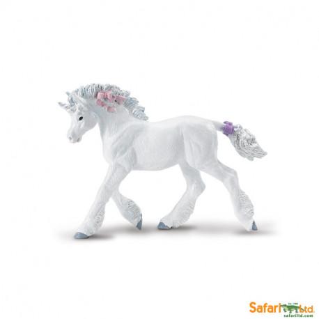 Unicornio blanco cria