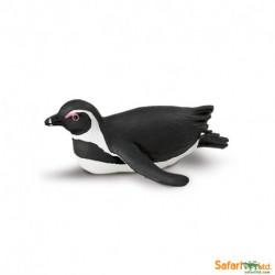 Pingüino africano tumbado