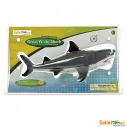 Tiburón blanco grande - cabeza ch.