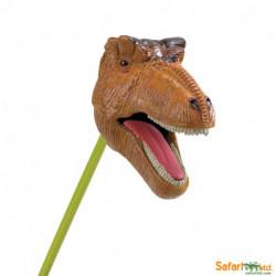T-Rex marrón - mandíbula ch.