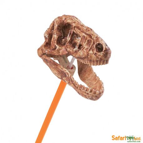T-Rex cráneo - mandíbula ch.