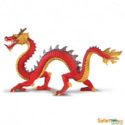 Dragón chino con cuernos