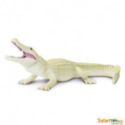 Aligator blanco